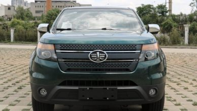 В Китае создали пикап в стиле Ford Explorer - Автоцентр.ua